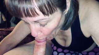 StepGranny Love's to Suck Man Meat and Deepthroat every Drop