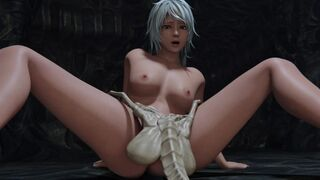 [3d Monster Hentai] Attack by Facehuggers