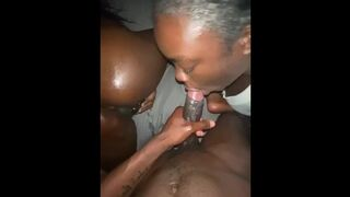 MASSIVE BLACK COCKS Black Menage A Trois | Full Video on OF
