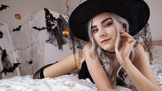Beauty Excited Witch Gets Sperm Makeover and Taking In Sperm - Eva Elfie