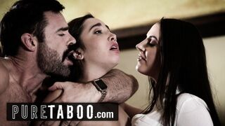 PURE TABOO Karlee Grey Fucks her Step Dad at Family Therapy
