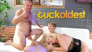 Dirty old Grandpa Learns how to Cuckold Grandmother