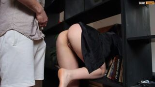 Amazing Mature Stuck - she Specially doesn't Wear Panties!!! - Candy Milady