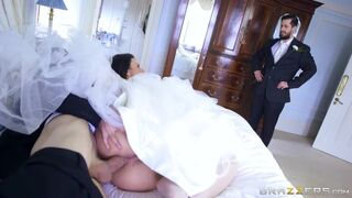 Doing Infidelity Bride Simony Diamond Likes Anus - Brazzers