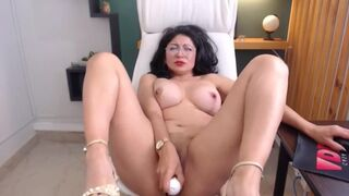 Mother In Law Latina Squirt on Cam Pt1