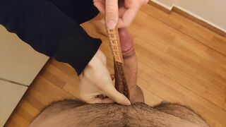 Howife Measuring Husband's Man Meat