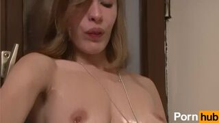 European Bitch Gets Banged and Cummed on