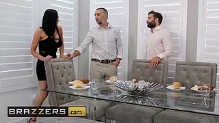 Real Matron Stories - (Audrey Bitoni, Keiran Lee) - Unfinished Business - Brazzers