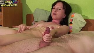 2 simultanous orgasms and immense cumshots