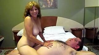 Grown-Up Fucks me good and my sperm hits her vagina strong!