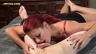Catherine Foxx Lickles Your Man Meat