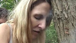 Marie Madison Public Space Smoke and Screw in Woods