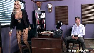 Brazzers - Tatooed mature Britney Shannon takes charge