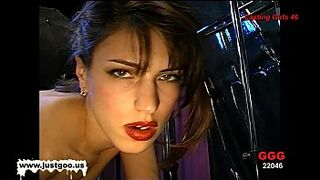 Gorgeous dark-haired adorable Irina fancy every boy to sperm on her beauty face