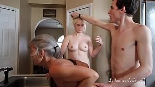 Freeze n Shut Up uncut-faultless A Taboo Family Menage A Trois