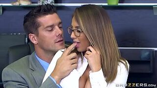 Brazzers - (Layla London) - Enormous Boobs at Work
