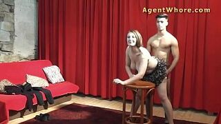 BBW adult do oral to adolescent model