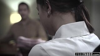 PURE TABOO Educator And Adolescent Have Intercourse in office