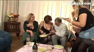 Orgy for a group of grown-up sluts!