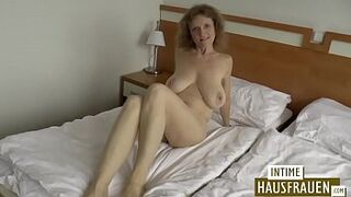Dark-Haired mature mom with h. boobs