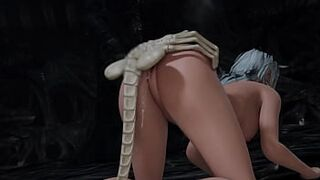 [3D Hentai Animation] I intimacy facehuggers