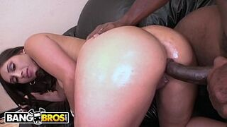 BANGBROS - Horny PAWG Alexis Breeze Gets Her Vagina Pounded With Massive Dark Skin Man Meat