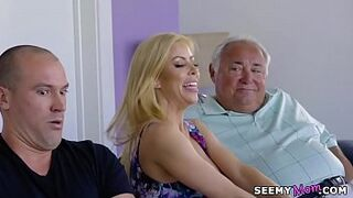 Alexis Fawx - I took my father's pills so I need my mature's help!