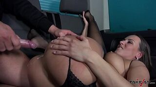 Random Sexy Stud Couldn't Wait To Mess Mea's Moist Shag Hole With Cum