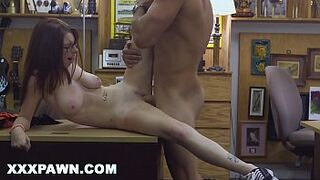 XXX PAWN - Jenny Gets Her College Booty Pounded At The Pawn Shop