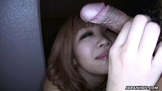 Asian adorable really wish her fella to sperm heavy