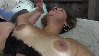 Exclusive video of newbie swinger couples having a foursome orgy
