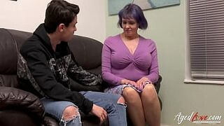 AGEDLOVE Adult with Immense Natural Boobs Rough Screwed