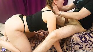 Strong Oral for Submissive Woman - Cristall Gloss