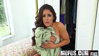 Mofos - Pervs On Patrol - Juicy Dark-Haired Wild For Man Meat starring Mila