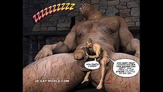 JACK AND THE BEANSTALK Cock Lover Comic Version by 3D Cock Lover World