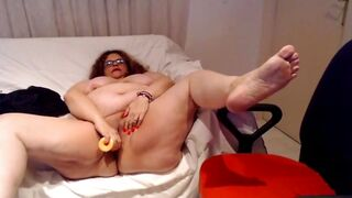 Fat Wife Gets Without Clothes