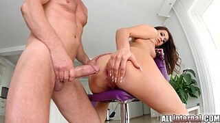 Allinternal Cindy Bubble drips seed from her asshole bust a load