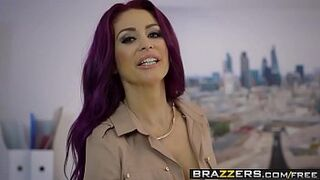 Brazzers - Large Big Boobs at Work - Point of Sale scene starring Monique Alexander & Danny D