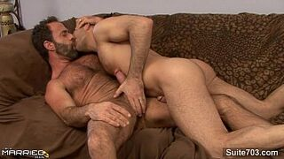 Gorgeous married boy gets humped by a cock lover