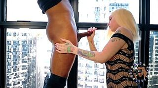 TFBE9: THE EXCITED ALEXIS ANDREWS GIVES ME A ORAL SEX THAT MAKES ME EXPLODE!!!