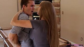 Moms Teach Intercourse - Grown-Up teaches daughter in law some new tricks