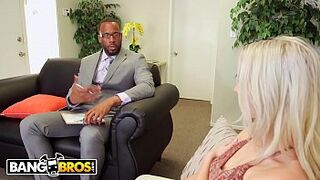 BANGBROS - Cadence Lux Dreams Of Enormous Dark Man Meat... And Then Gets It