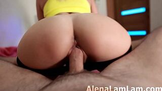 stepmother Cowgirl Massive Man Meat and Seed on Large Butt