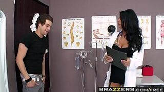 Brazzers - Doctor Adventures - Take Up Thy Stethoscope And Shag scene starring Jessica Jaymes and Xa