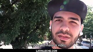 LatinLeche - Scruffy Stud Joins a Tranny-For-Pay Porno