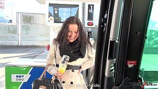 Rescued wife on gas station pay the price with her body