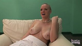18 Year Old Immense Tit Yellowish First Ever Video Wanking