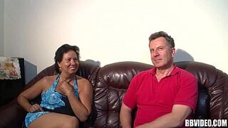 Mature Mom german whore humped in sex in three