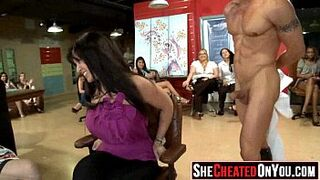 24 Milfs take loads in the face at secret sexual intercourse party 03