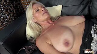 Very lustful babe grown-up screw like Mama his stepson on fake casting